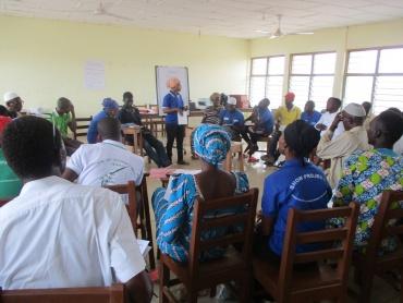 Training VA's in West Mamprusi District